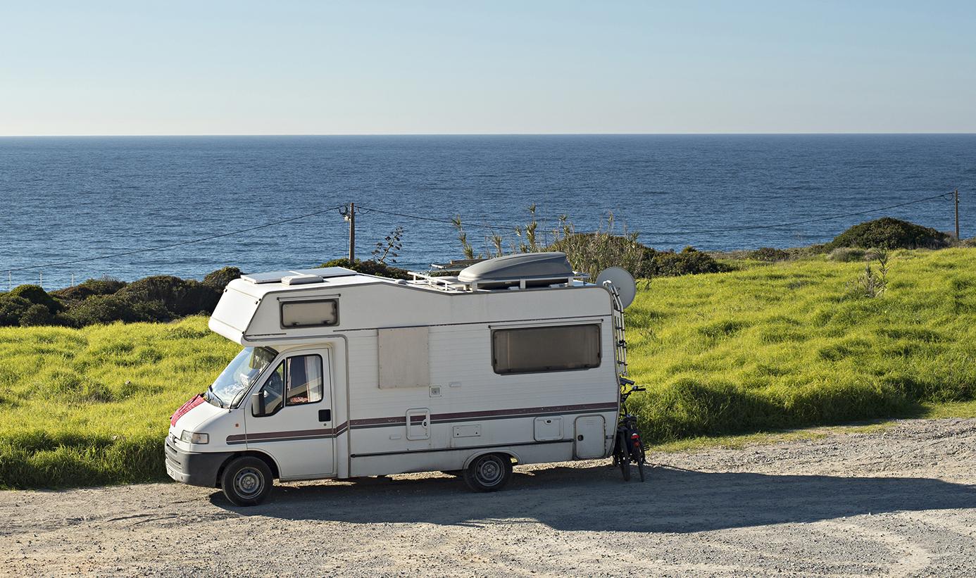 roadtrip en bord de mer Bretagne en camping-car